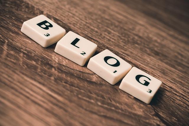 Letras de Blog