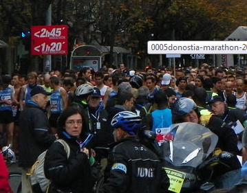 Donostiako maratoia 2016