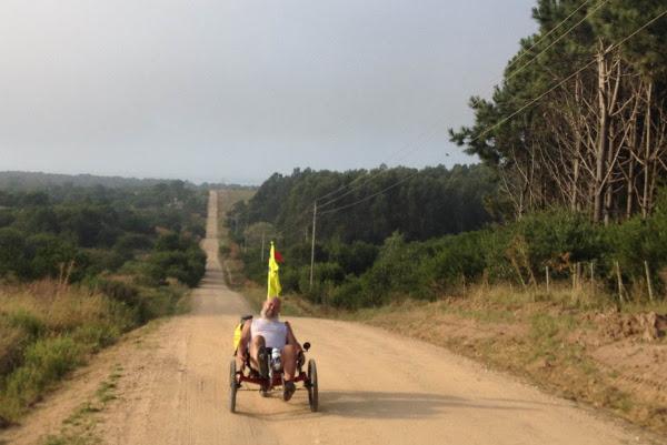 El Pampa en bici