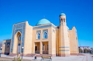 Mezquita en Kazajistán