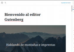 Editor Gutenberg en Wordpress 5.0
