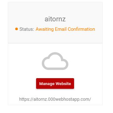 Rellenar el formulario de alta en el servicio de hosting gratuito 000webhost