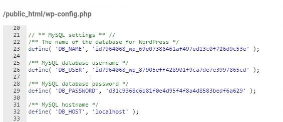 Gestor de archivos de 000webhost
