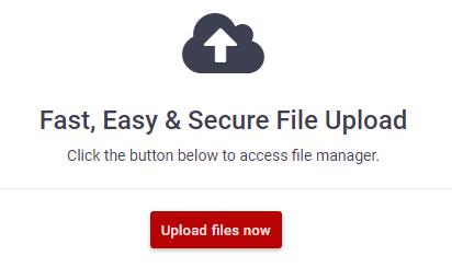 Gestionar archivos en el hosting 000webhost